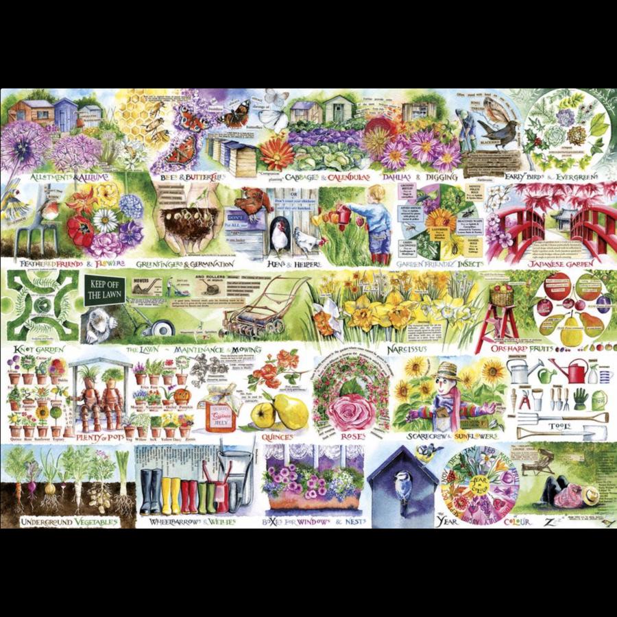 Alles voor de tuin - puzzel van 1000 stukjes-1