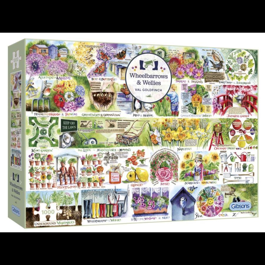 Alles voor de tuin - puzzel van 1000 stukjes-2