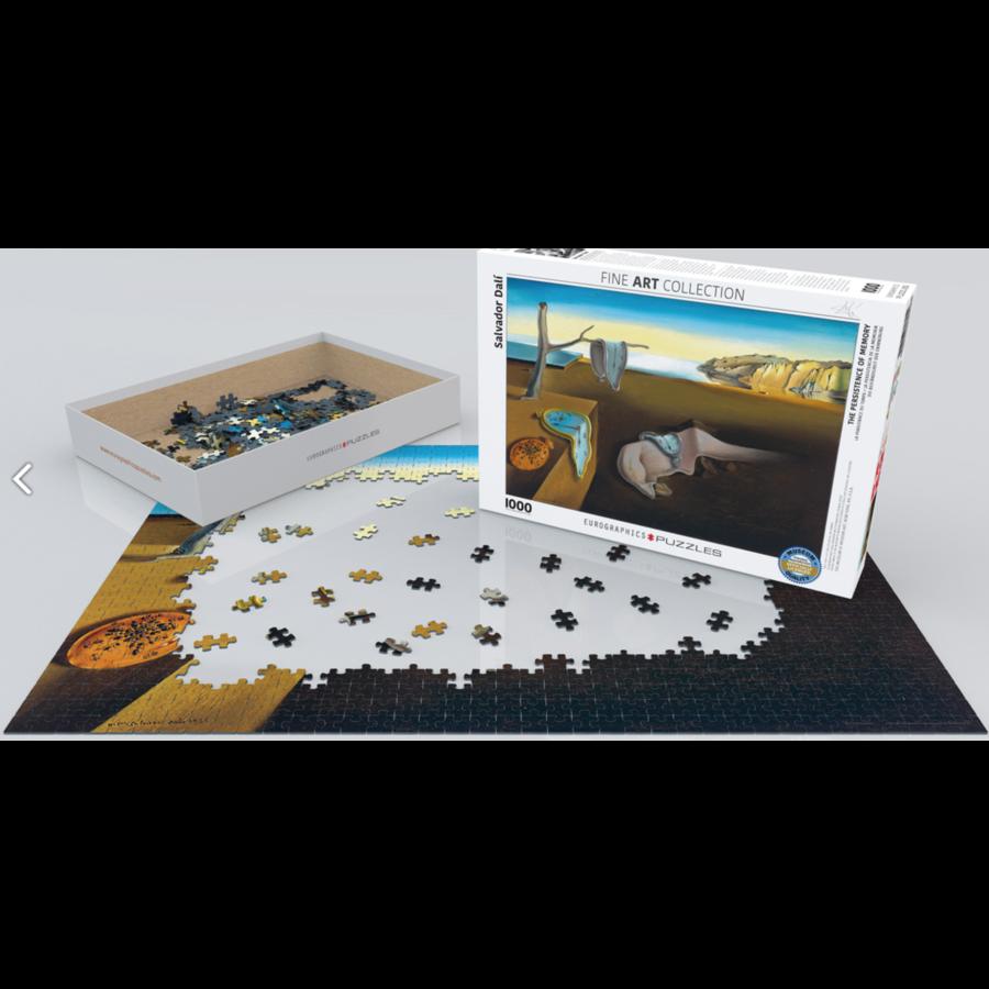 Salavador Dali  - La persistance du temps - puzzle de 1000 pièces-2