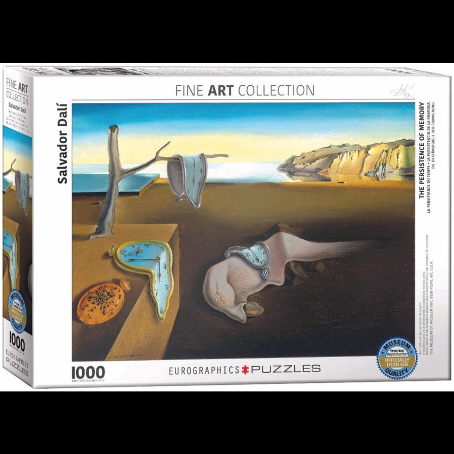 Salavador Dali  - La persistance du temps - puzzle de 1000 pièces-1