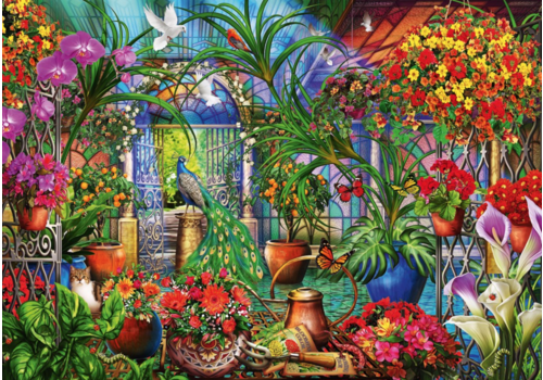Tropical Green House - 6000 pieces