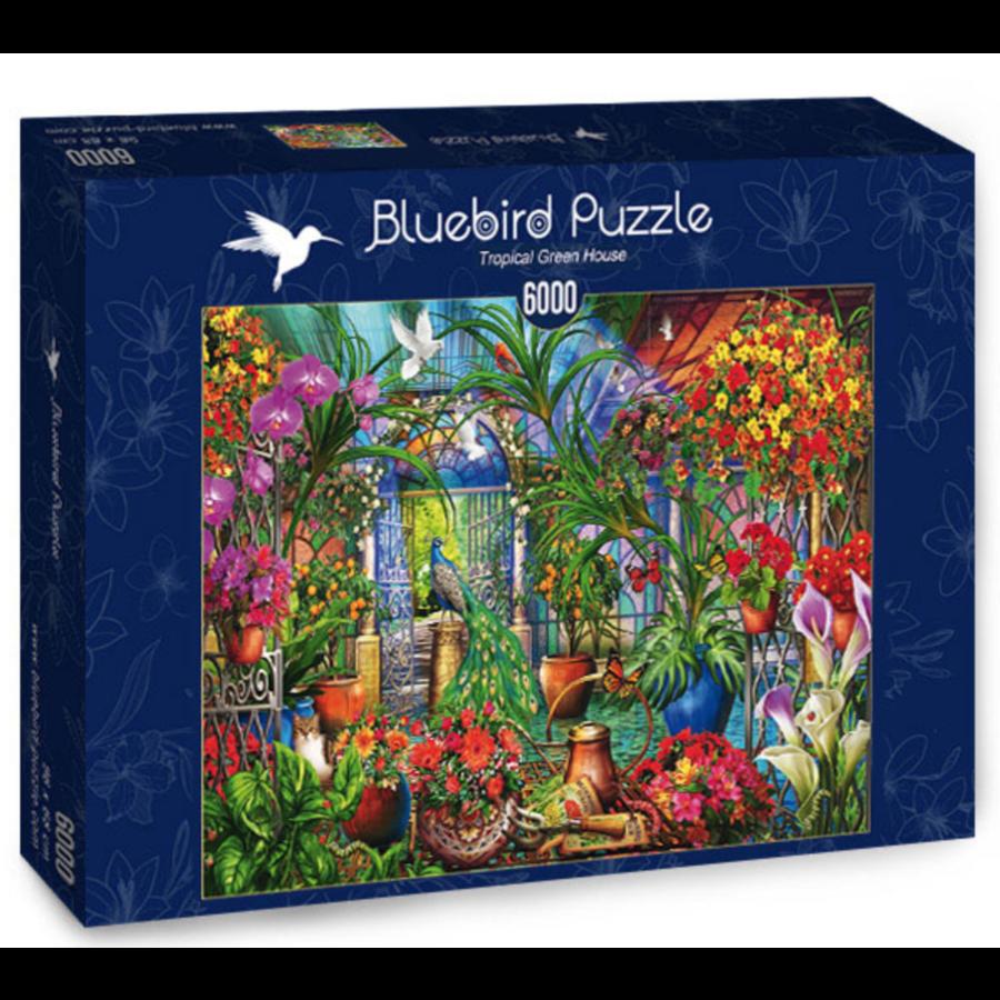 Tropische serre - puzzel van 6000 stukjes-2