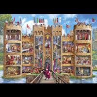 thumb-Een kijkje in het kasteel - puzzel van 1000 stukjes-1