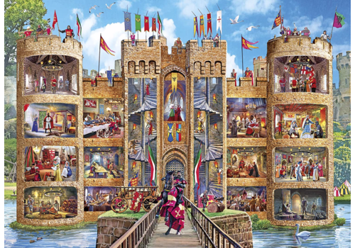 Gibsons Castle Cutaway - 1000 pieces