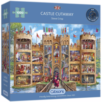 thumb-Un regard dans le château - puzzle de 1000 pièces-2