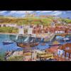 Gibsons Het zeilschip Endeavour in de haven - puzzel van 1000 stukjes