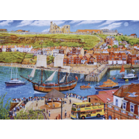 thumb-Endeavour, Whitby - puzzle de 1000 pièces-1