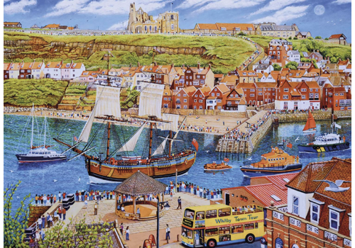 The Endeavour in Whitby - 1000 pieces
