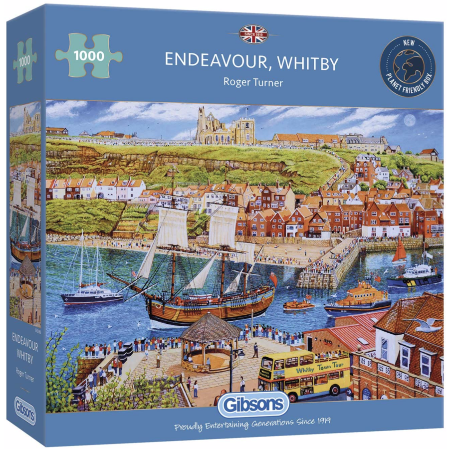 Endeavour, Whitby - puzzle de 1000 pièces-2