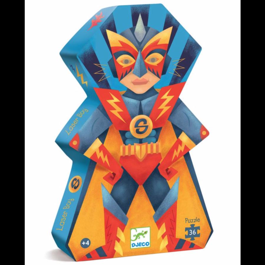 Laser Boy - puzzel van 36 stukjes-1