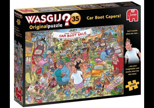 Jumbo Wasgij Original 35 - Car Boot Capers! - 1000 pièces