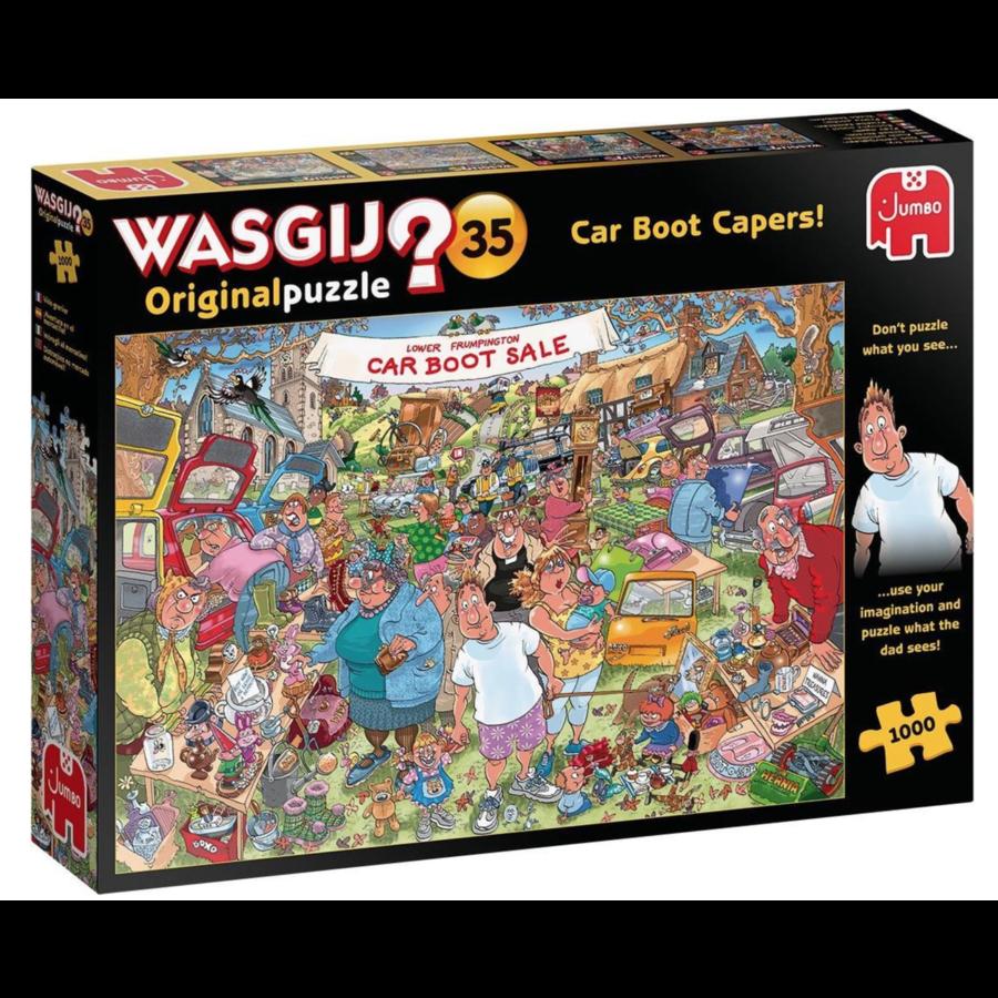 Wasgij Original 35 - Vlooienmarkt vondst! - 1000 stukjes-1