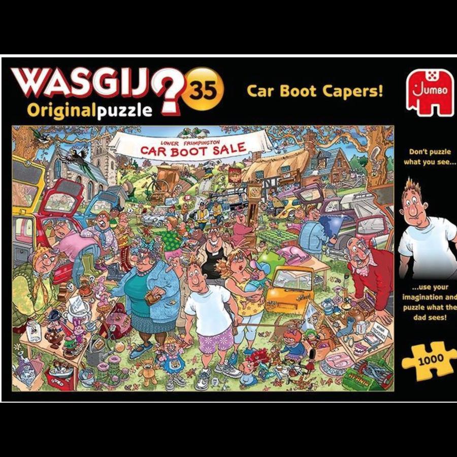 Wasgij Original 35 - Vlooienmarkt vondst! - 1000 stukjes-3