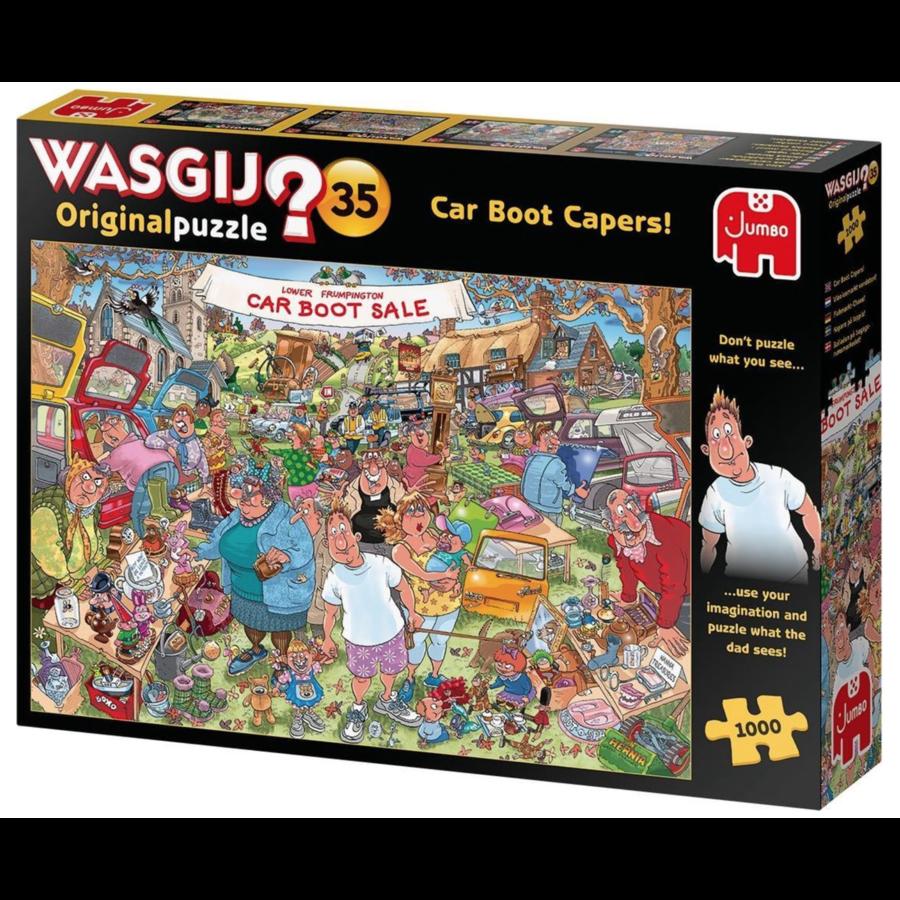 Wasgij Original 35 - Vlooienmarkt vondst! - 1000 stukjes-4