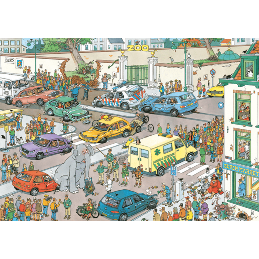 Jumbo Goes Shopping - JvH - 1000 pieces-2