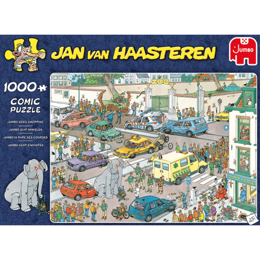 Jumbo Goes Shopping - JvH - 1000 pieces-1