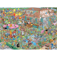 thumb-Verjaardagsfeestje - JvH - 1000 stukjes-1