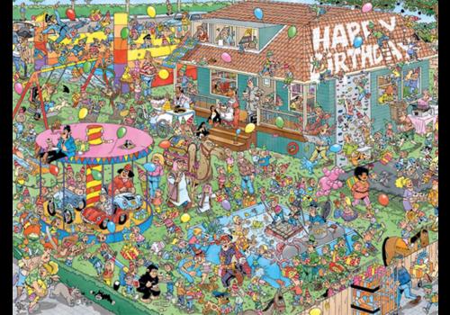 Jumbo La fête d'anniversaire - JvH - 1000 pièces