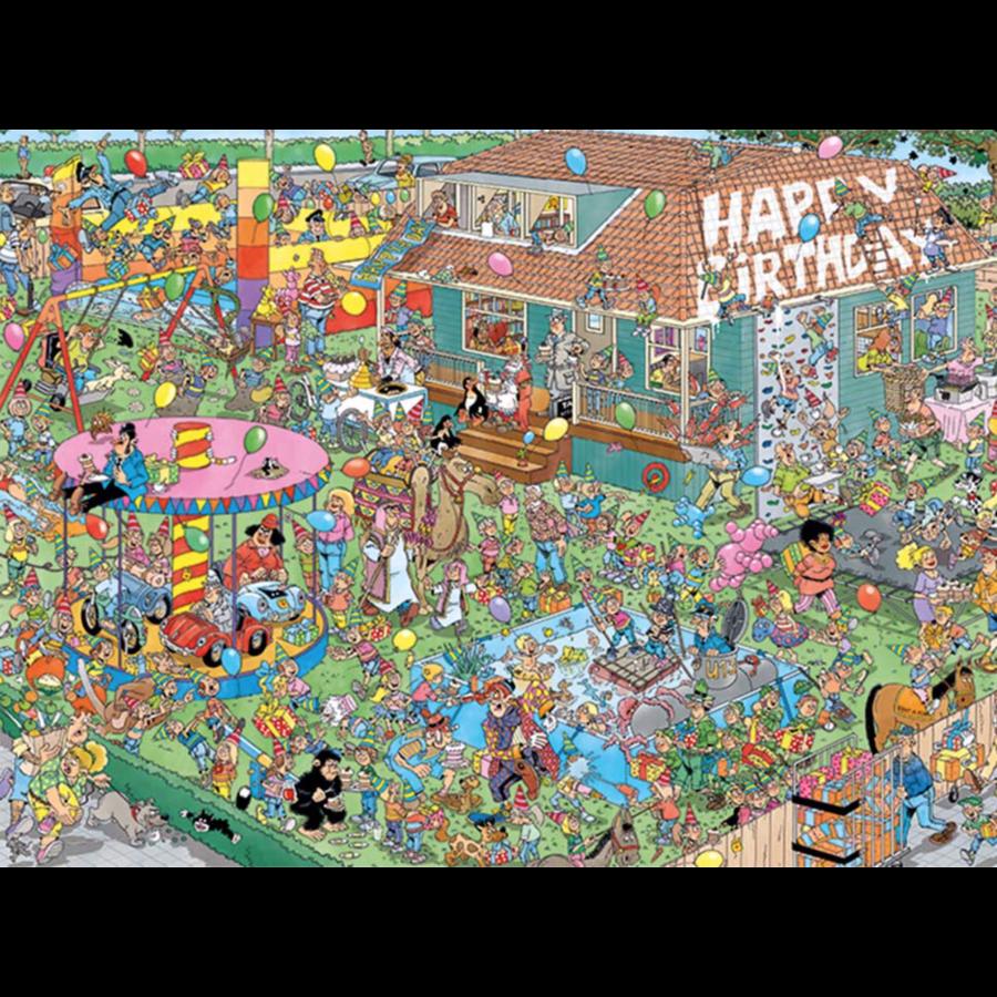 Verjaardagsfeestje - JvH - 1000 stukjes-1