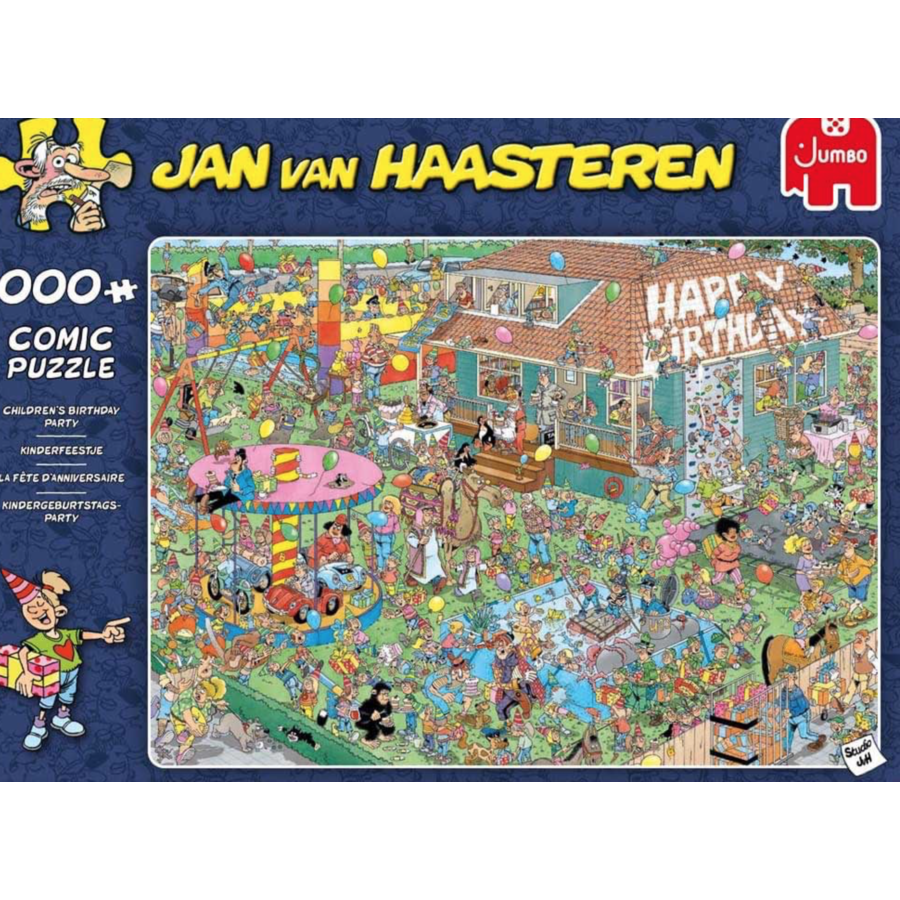 Verjaardagsfeestje - JvH - 1000 stukjes-2