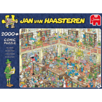 De bibliotheek - JvH - 2000 stukjes