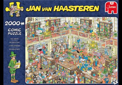 Jumbo La bibliothèque  - JvH - 2000 pièces