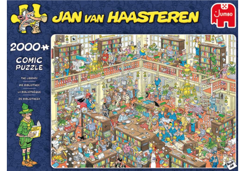 PRE-ORDER  - La bibliothèque  - JvH - 2000 pièces