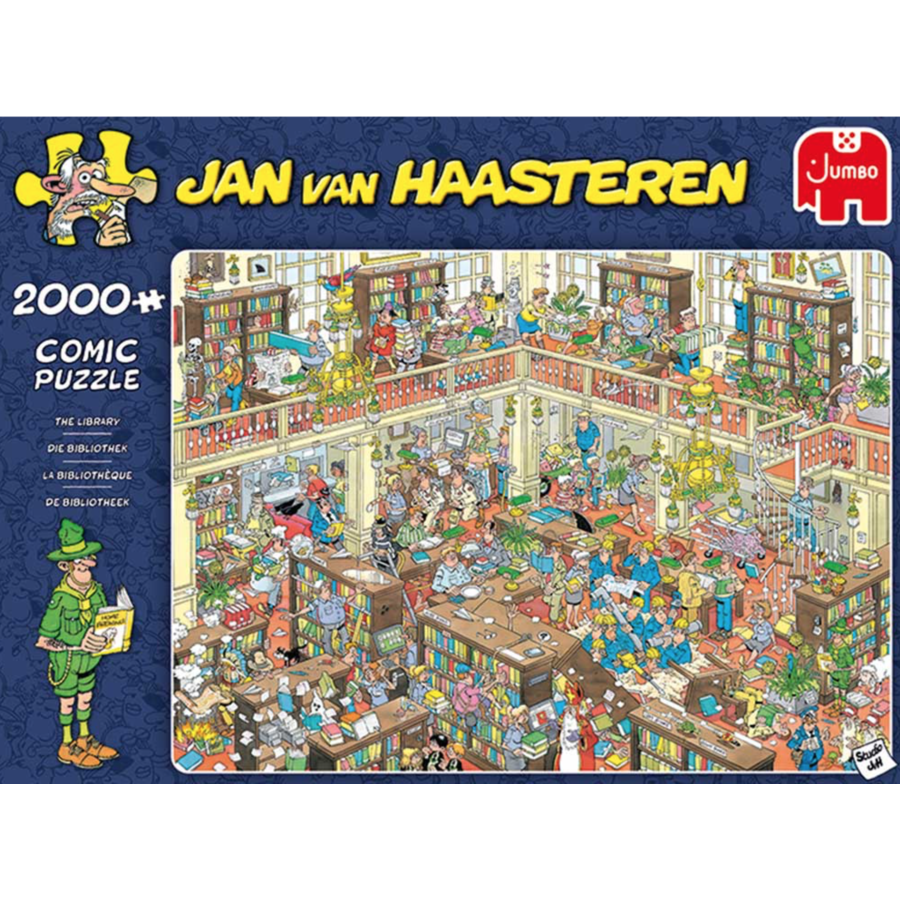 De bibliotheek - JvH - 2000 stukjes-1
