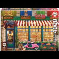 thumb-La librairie vintage - puzzle de 4000 pièces-1