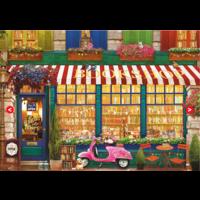 thumb-La librairie vintage - puzzle de 4000 pièces-2