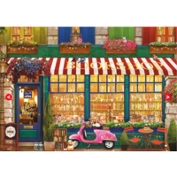 thumb-The vintage bookshop - jigsaw puzzle of 4000 pieces-2