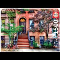 thumb-Greenwich village - puzzle de 1500 pièces-1
