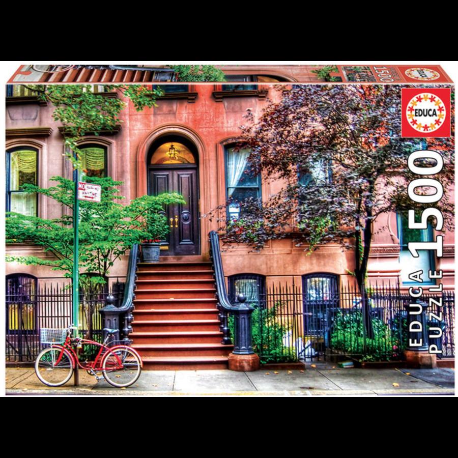 Greenwich village - puzzle de 1500 pièces-1