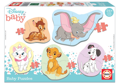 Baby Disney animals  - 3, 4 and 5 pieces