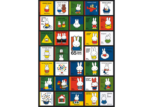 Nijntjes 65ste verjaardag - 1000 stukjes