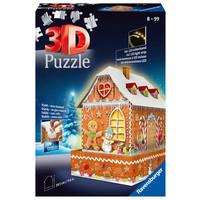 thumb-Peperkoekenhuisje - 3D puzzel - 216 stukjes-1