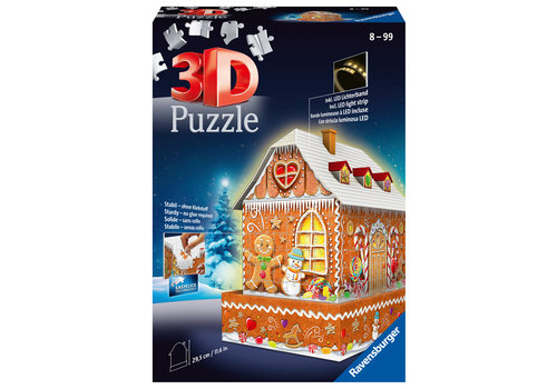 Ravensburger Gingerbread house - 3D puzzle - 216 pieces