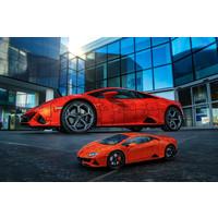thumb-Lamborghini Huracan Evo - 108 stukjes-4