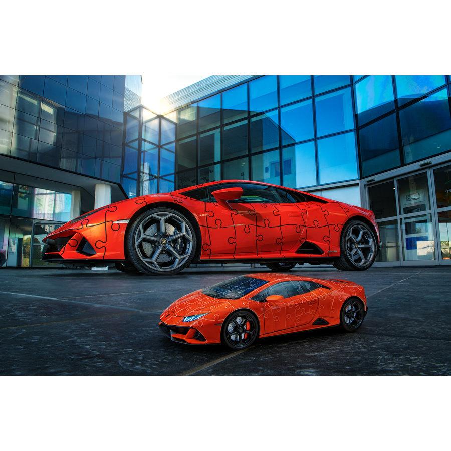 Lamborghini Huracan Evo - 108 stukjes-4