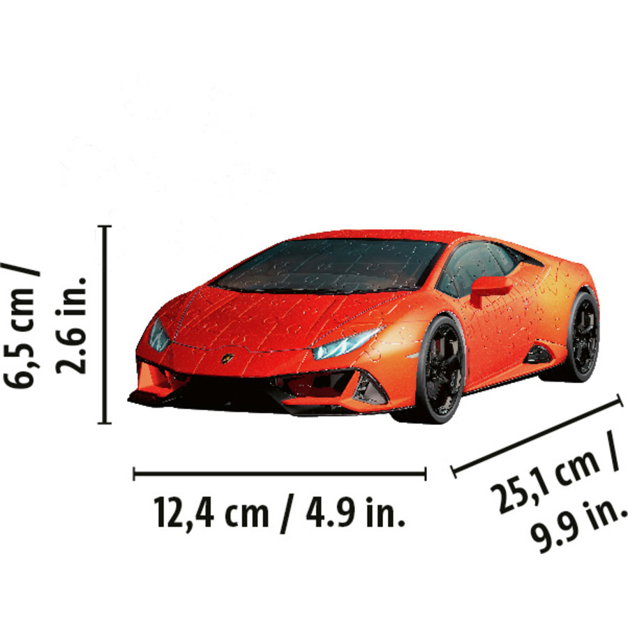 Lamborghini Huracan Evo - 108 stukjes-3