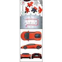 thumb-Lamborghini Huracan Evo - 108 stukjes-6