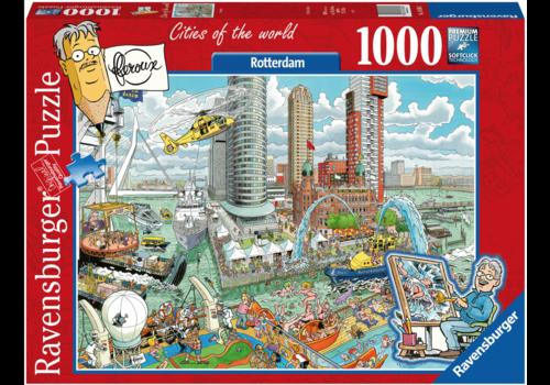 Ravensburger Rotterdam - Fleroux - 1000 stukjes