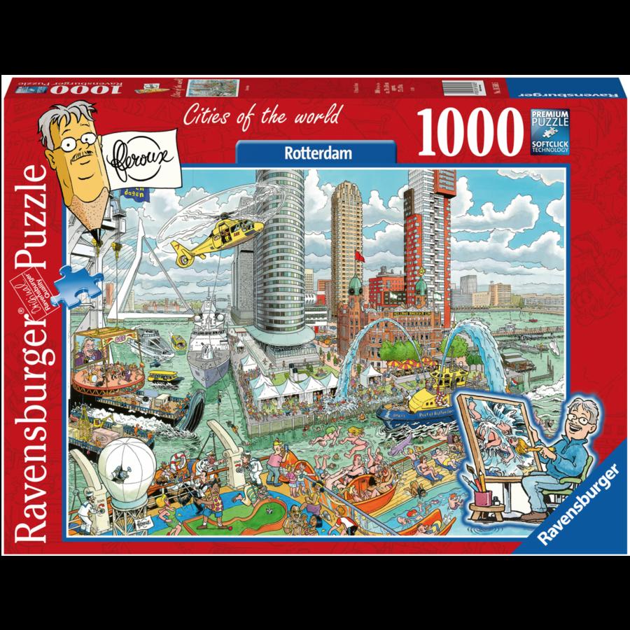 Rotterdam - Fleroux -  1000 pièces-1