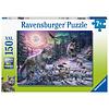 Ravensburger Wolven in het noorderlicht - puzzel van 150 stukjes
