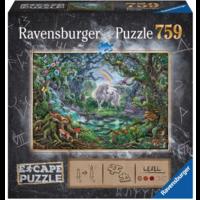 thumb-Escape Puzzel 9: De eenhoorn - 759 stukjes-1