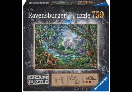 Ravensburger Escape Puzzel 9: De eenhoorn - 759 stukjes