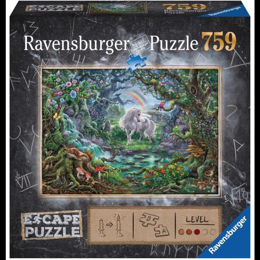 Escape Puzzel 9: De eenhoorn - 759 stukjes-1