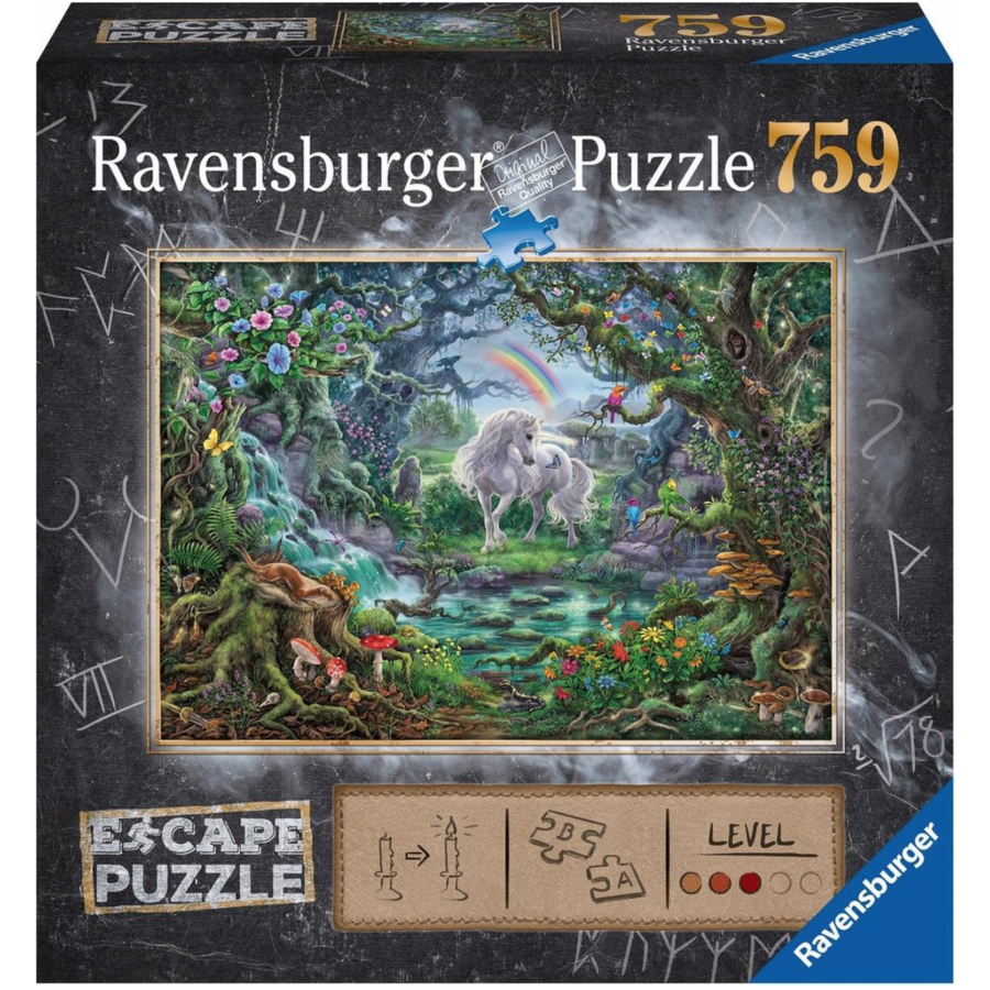 Escape Puzzle 9 : La Licorne  - 759 pièces-1