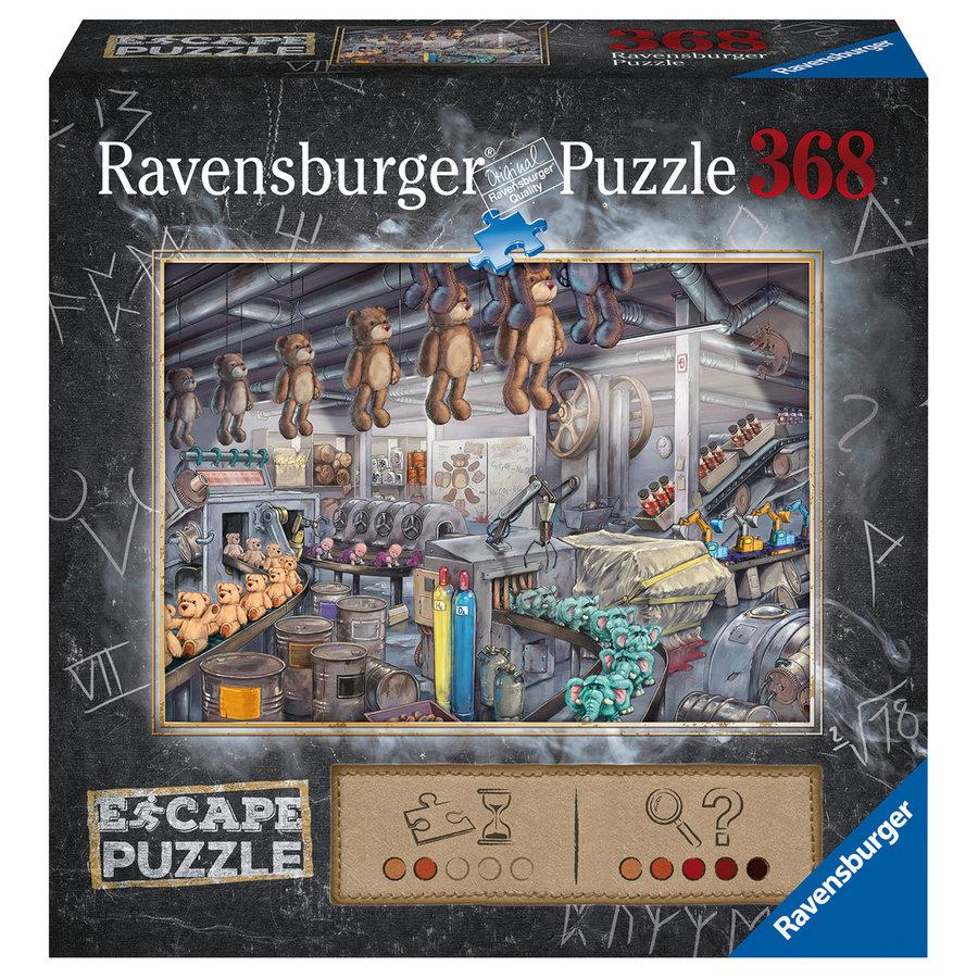 Escape Puzzel: De speelgoedfabriek - 368 stukjes-1