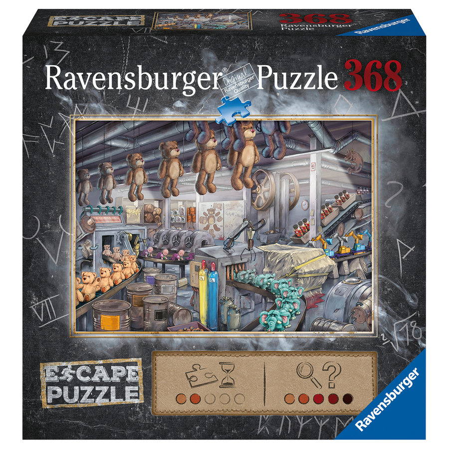 Escape Puzzle: l'usine à jouets - 368 pièces-1